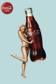 pin up della coca cola