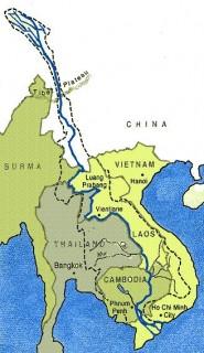 Percorso del Mekong