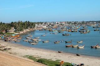 Villaggio di pescatori a Mui Ne