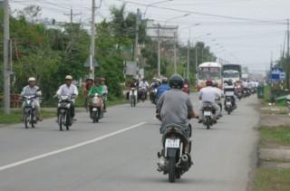 Traffico sulla statale costiera