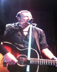 Bruce Springsteen durante il concerto di Roma