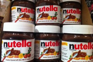 vasetti di Nutella
