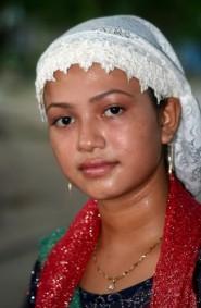 ragazza di etnia Cham