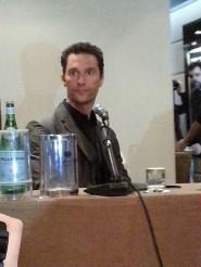 Matthew McConaughey - Roma, 28 Gennaio 2014