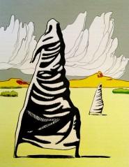 Dipinto di Dino Buzzati