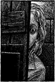 Un'illustrazione di Hell of a Woman