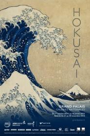 Locandina della mostra di Hokusai