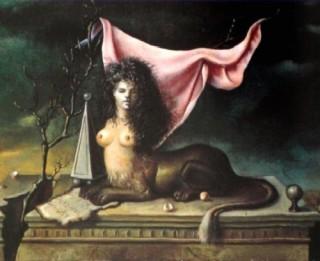 Un dipinto di Leonor Fini