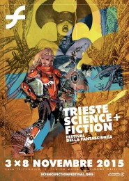 Trieste Science + Fiction (locandina di Mario Alberti)