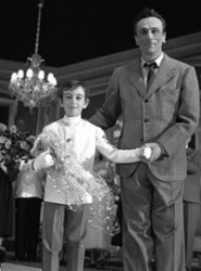 Luca De Filippo con suo padre