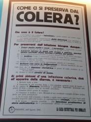 Come ci si preserva dal colera?