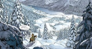 Vignetta Sfida nel Montana