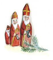 San Nicolò disegnato da Anna Negrelli