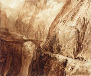 Devil's Bridge, Mt St Gothard (1806-07)