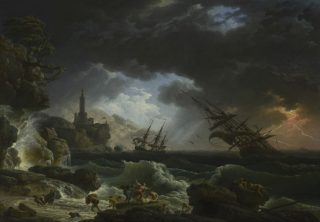 A Shipwreck in Stormy Sea 1773