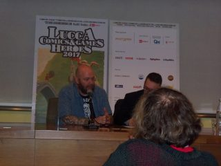 Jason Aaron - conferenza stampa