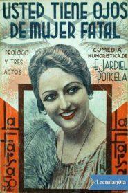 Poncela (Usted tiene ojos de mujer fatal)