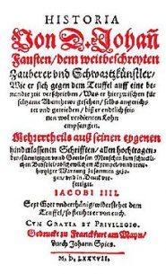Historia Von Doktor Johann Fausten