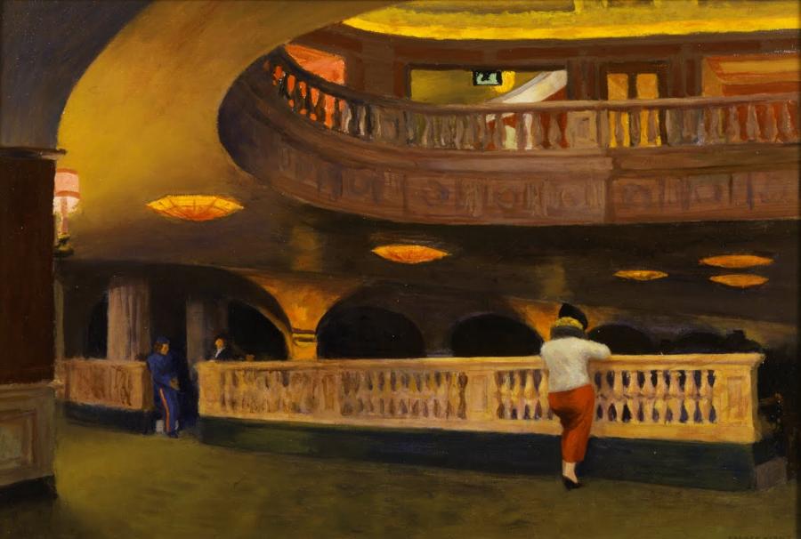 Il cinema nei dipinti di Edward Hopper (II): The Sheridan Theatre