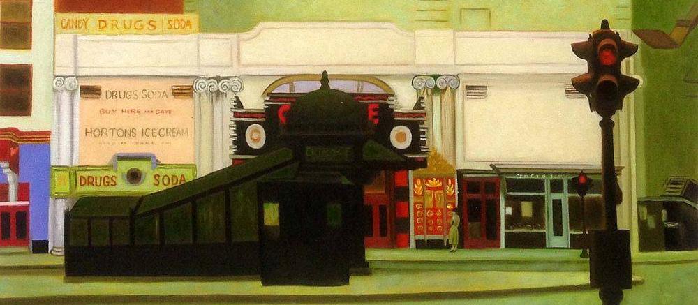 Il cinema nei dipinti di Edward Hopper (I): The Circle Theatre